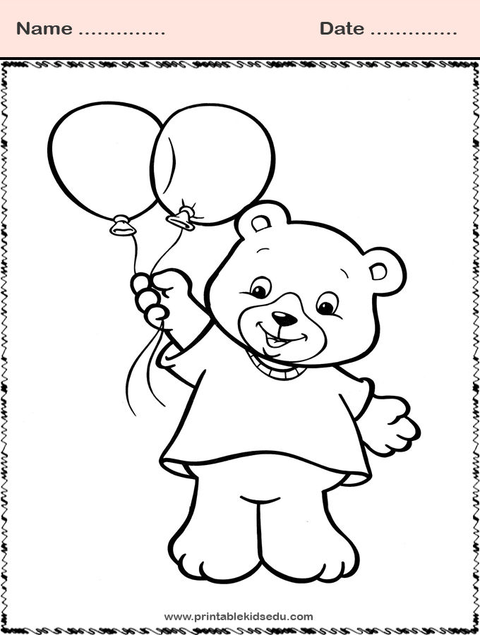 Printable Childrens Pictures Coloring Pages